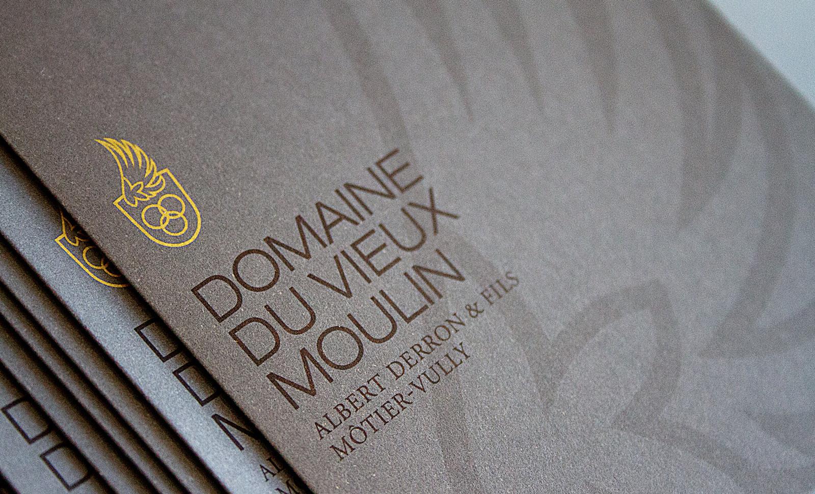Brochure domaine du Vieux Moulin