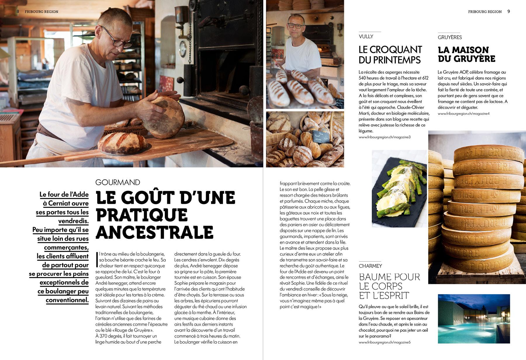fribourg region magazine tourisme boulanger Adde
