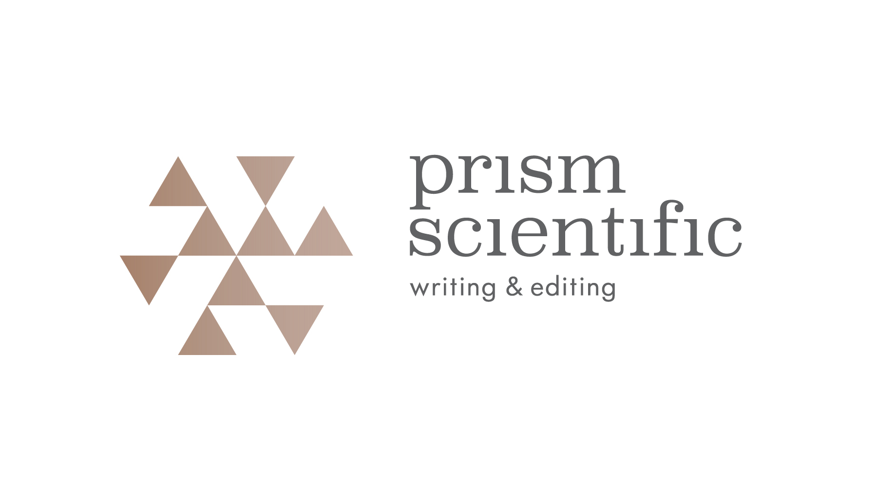 prismscientific logo design identité